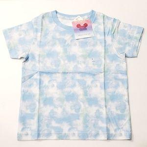 Mickey & The Sun Uniqlo Cloud Blue Short Sleeves